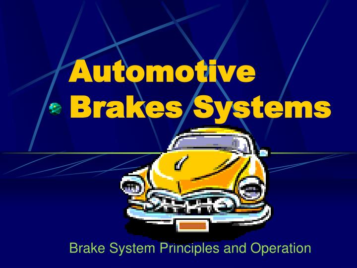 automotive brakes systems n.