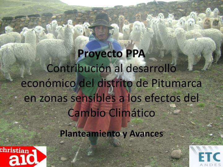 Proyecto PPA