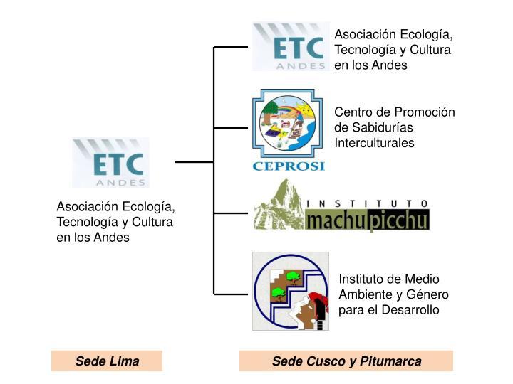 Asociación Ecología, Tecnología y Cultura en los Andes