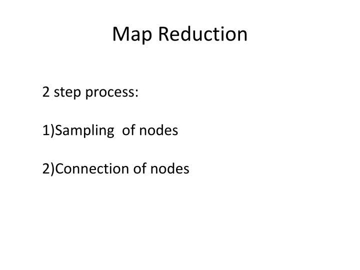 Map Reduction