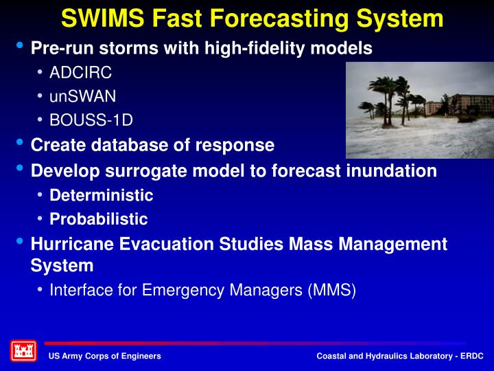 SWIMS Fast Forecasting System