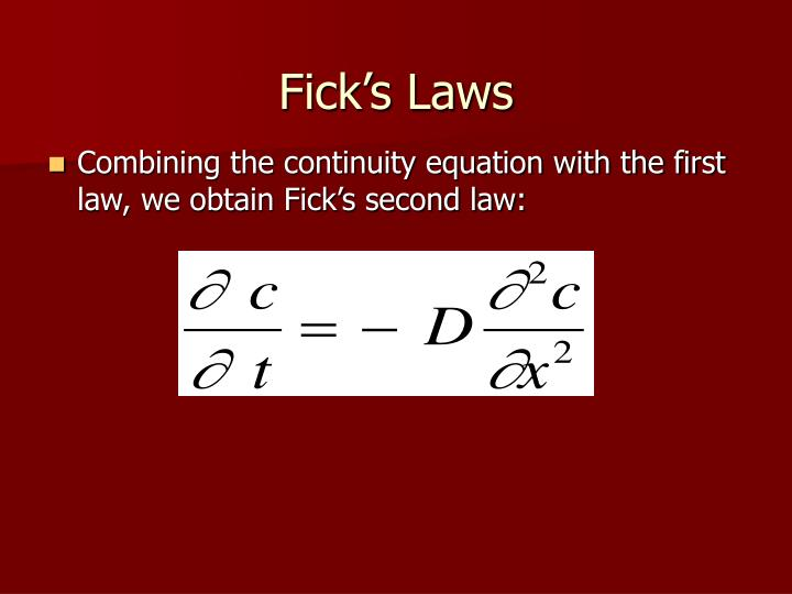 PPT - Ficks Laws PowerPoint Presentation, free download