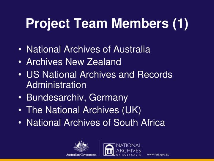 Project Team Members (1)