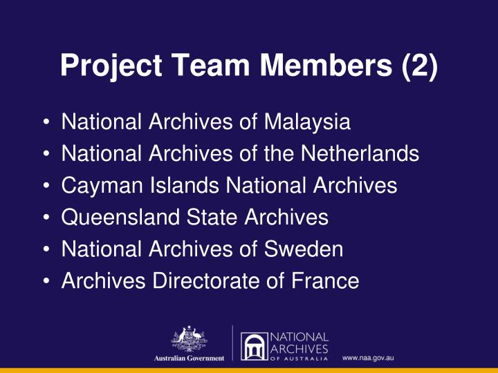 Project Team Members (2)