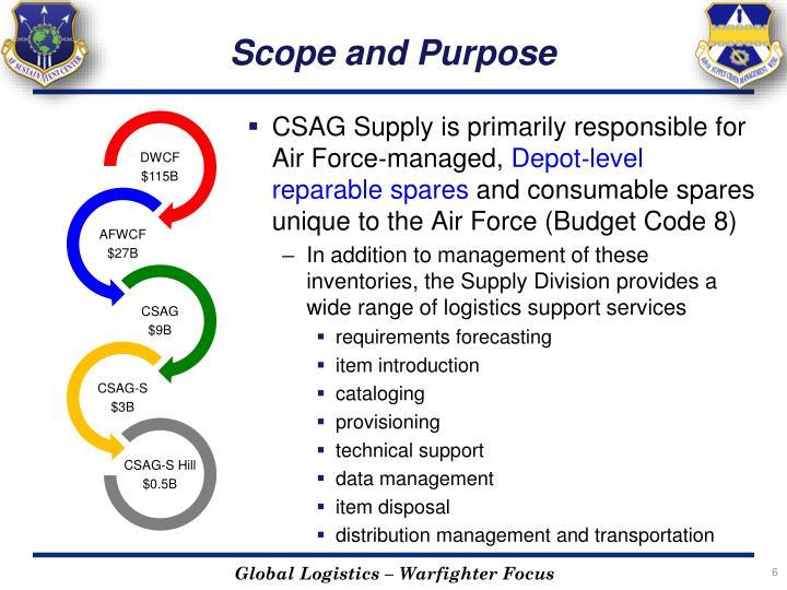 Scope and Purpose
