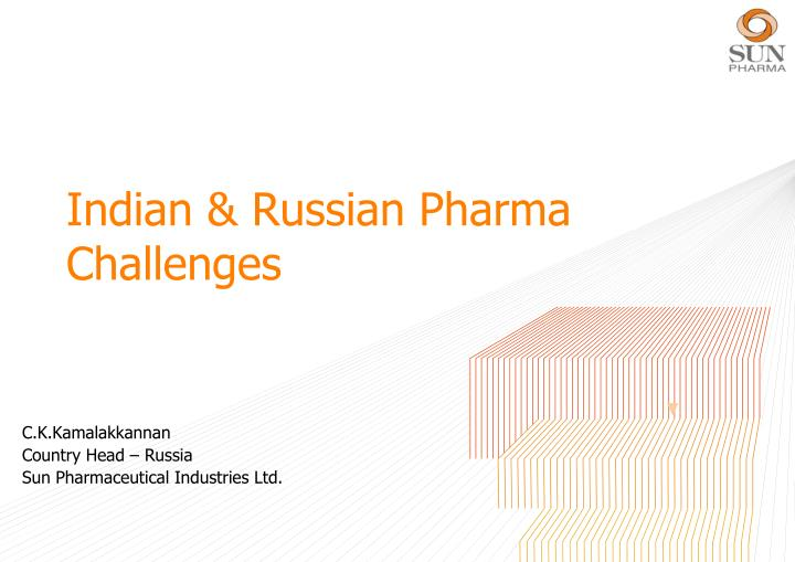 Indian russian pharma challenges