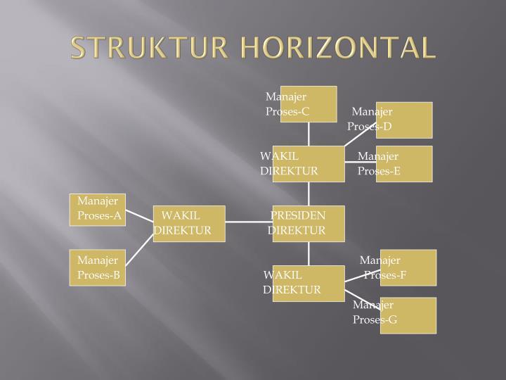 STRUKTUR HORIZONTAL