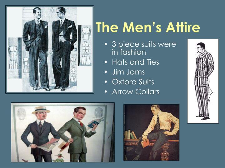 The Men's Attire