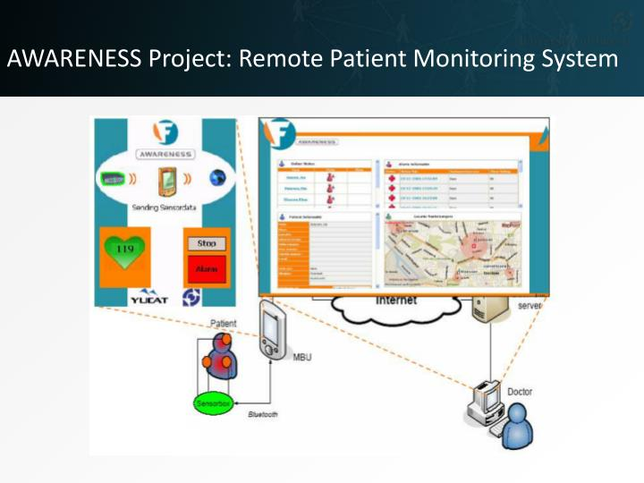 AWARENESS Project: Remote Patient Monitoring System