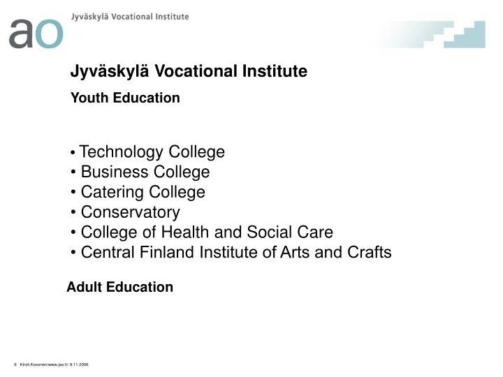 Jyväskylä Vocational Institute