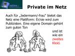 private im netz