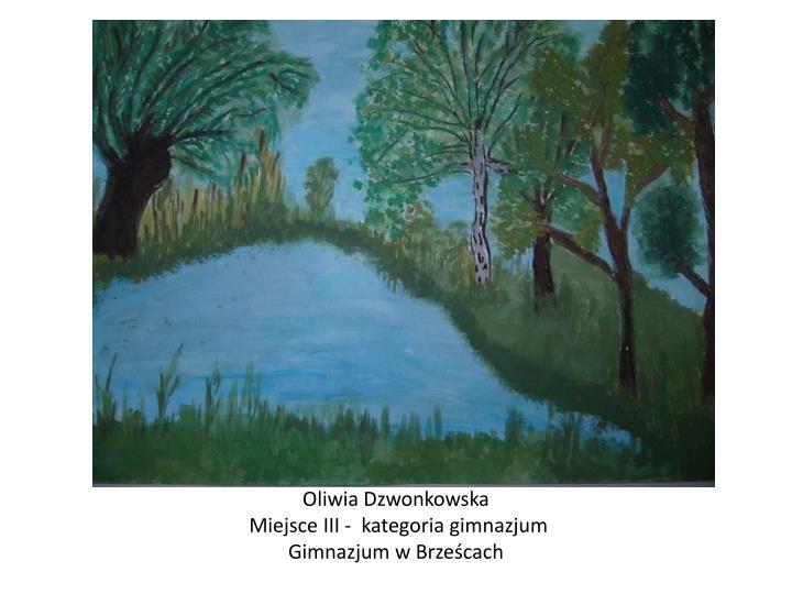 Oliwia Dzwonkowska