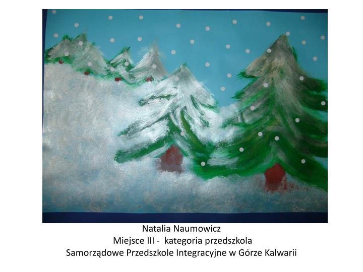 Natalia Naumowicz