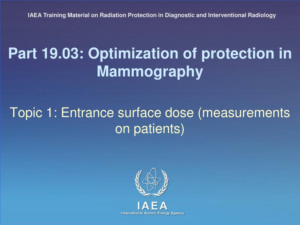 PPT - RADIATION PROTECTION IN DIAGNOSTIC AND INTERVENTIONAL