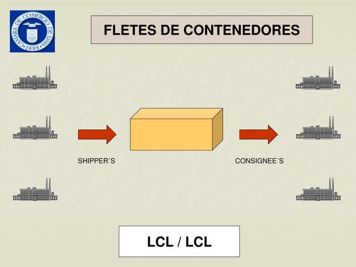 FLETES DE CONTENEDORES