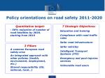 policy orientations on road safety 2011 2020