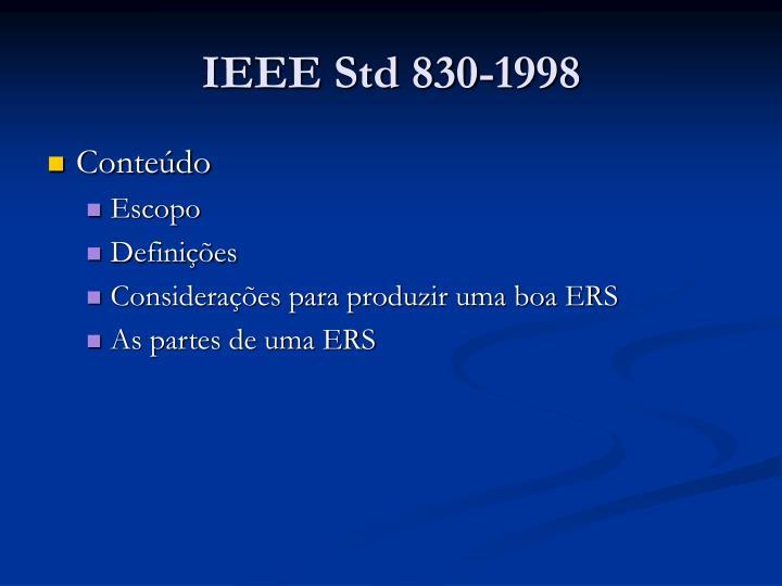 Ieee std 830 19981