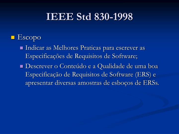 Ieee std 830 19982