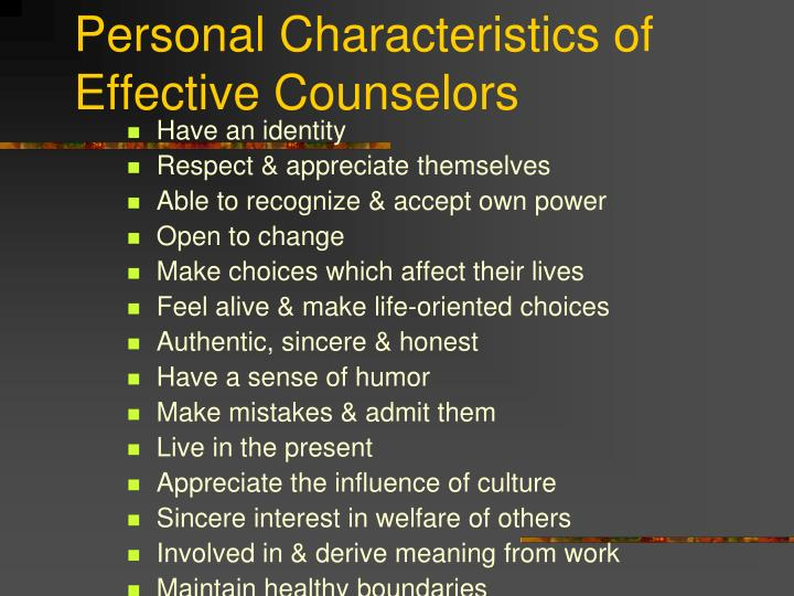 orientation of counseling theory Five counseling theories and approaches psychotherapy theories provide a framework for therapists and counselors to interpret a client's behavior there are hundreds of different types of theoretical orientations and techniques that therapists use nowadays in the field of psychotherapy.