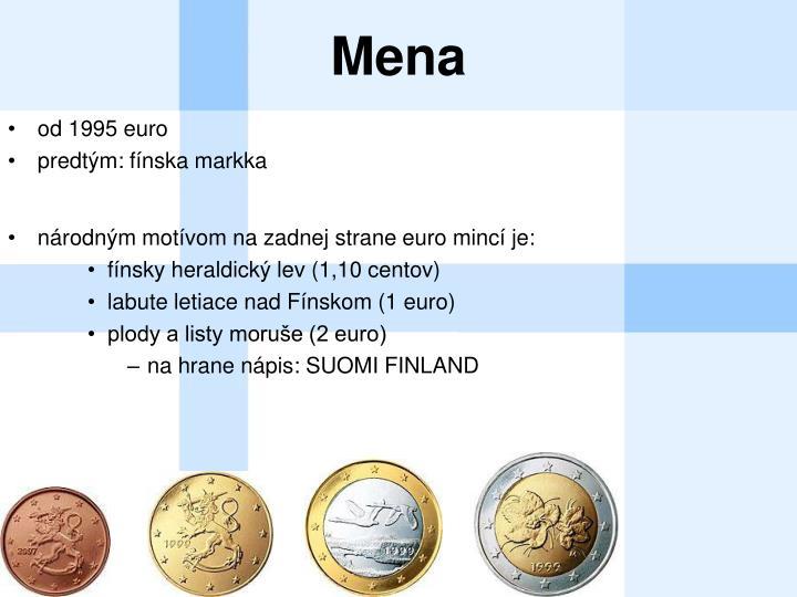 od 1995 euro