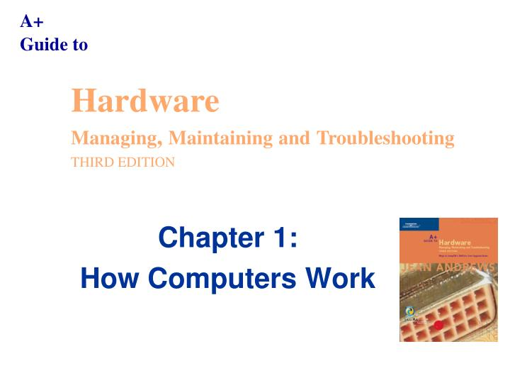 guide to hardware 6e ch 9 7 Study flashcards on hardware chapter 7 at cramcom quickly memorize the terms, phrases and much more cramcom makes it easy to get the grade you want.