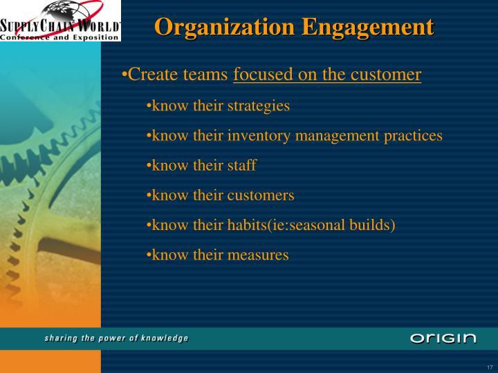 Organization Engagement