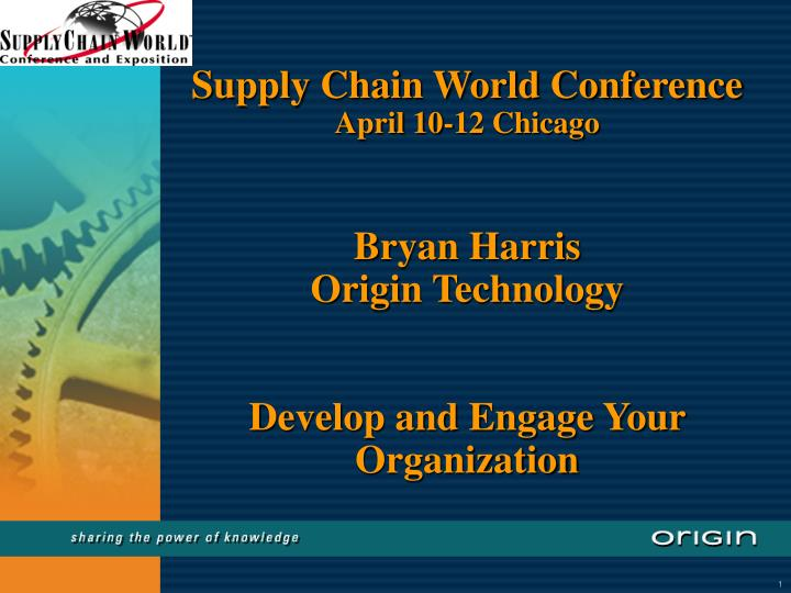 Supply Chain World Conference