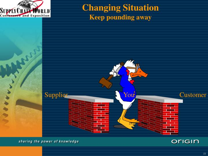 Changing Situation