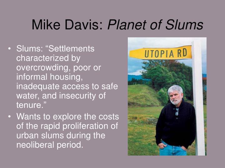 Mike Davis: