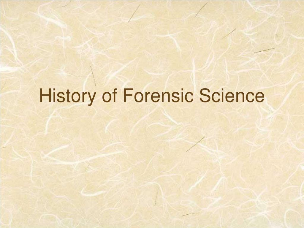 marcello malpighi forensic science