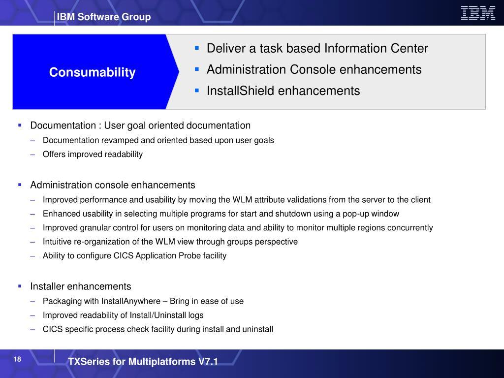 PPT - IBM TXSeries for Multiplatforms Distributed