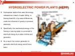 hydroelectric power plants hepp