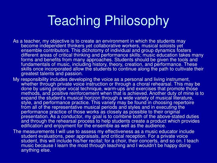 philosophy of teaching ell students My teaching philosophy - ells from a young age, i wanted to be a teacher after school and on the weekends, my bedroom would turn into a classroom and greeting cards became my students (as long as there was some sort of anthropomorphic character on them.