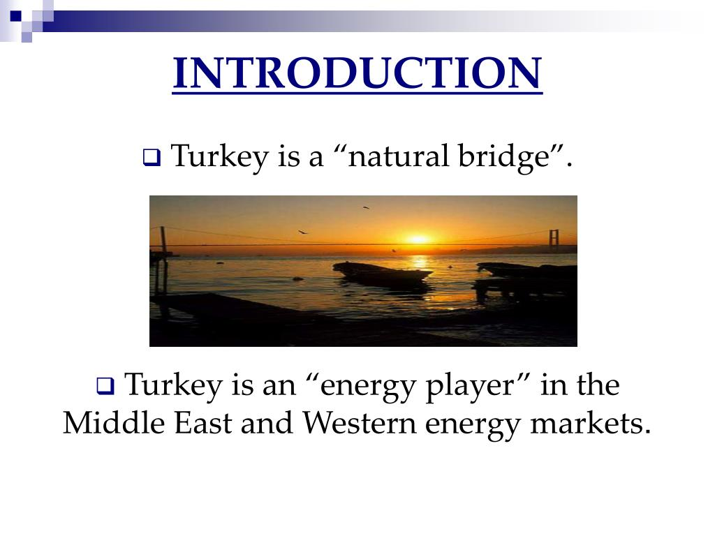 Ppt Turkish Energy Law And Energy Market Regulatory