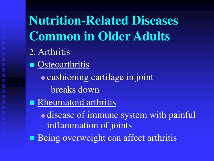 nutrition related diseases conditions essay Nutrition programs essay green facts: diet and nutrition prevention of chronic diseases retrieved related essays nutrition programs.