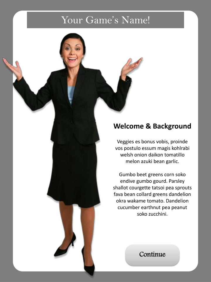Welcome & Background