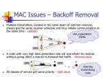 mac issues backoff removal