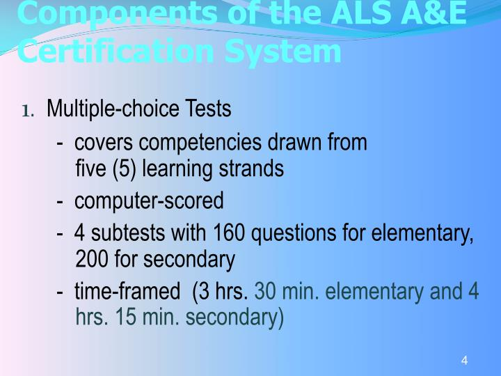 Ppt Als Ae System Powerpoint Presentation Id4078027