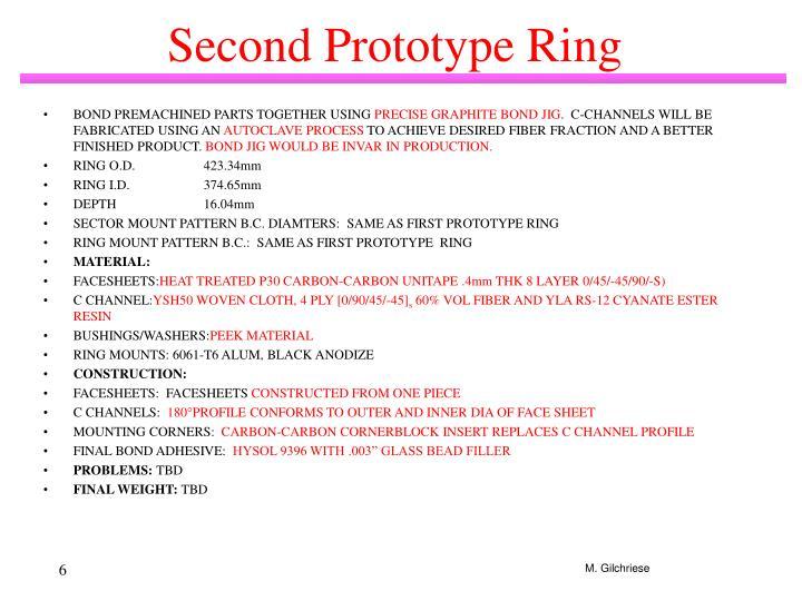 Second Prototype Ring