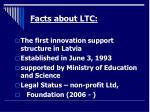 facts about ltc