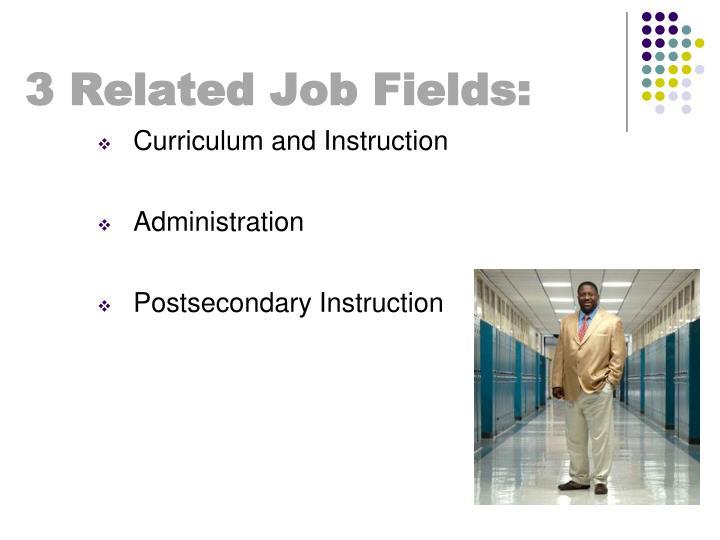 3 Related Job Fields: