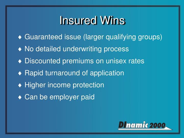 Insured Wins