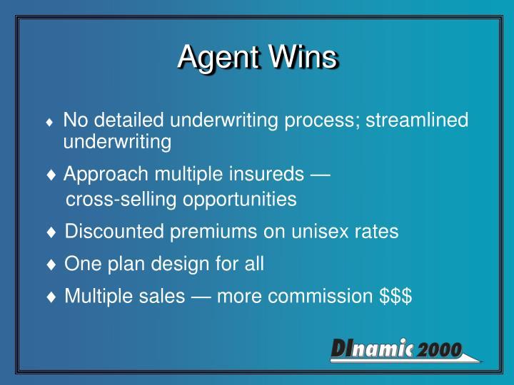 Agent Wins