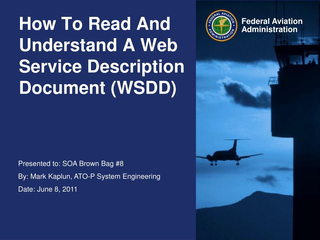 How To Read And Understand A Web Service Description Document Wsdd N