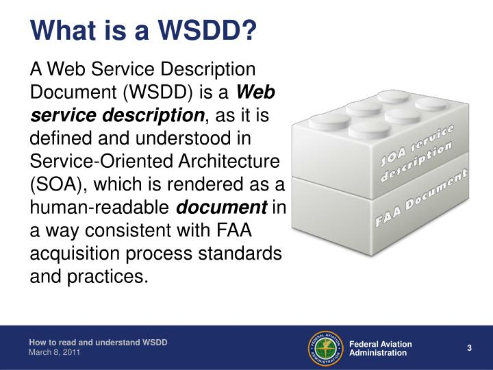 What Is A WSDD