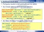 3 bulkload result data