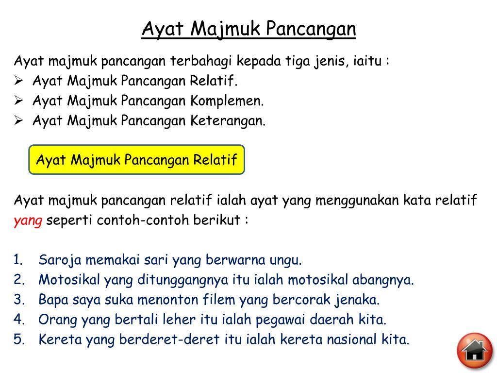 Ppt Ayat Majmuk Powerpoint Presentation Free Download Id 4079561