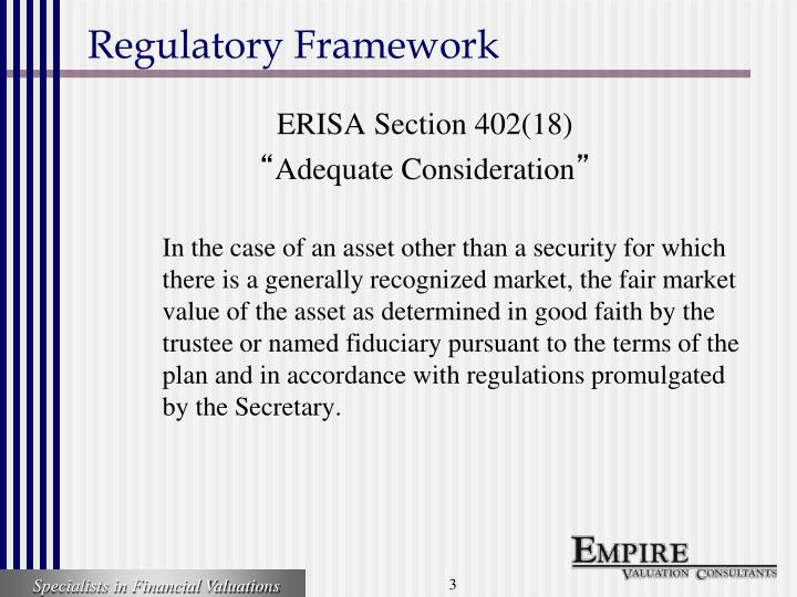 regulatory framework Fda 101 offers a broad overview of fda's regulatory review and research activities as well as its product quality and safety responsibilities fda gives the course annually in the spring to our.