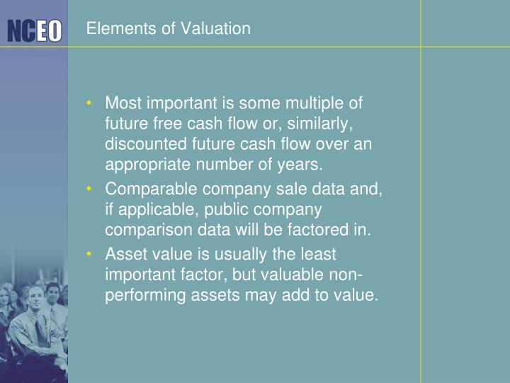 Elements of Valuation