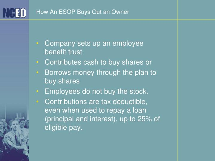 How An ESOP Buys Out an Owner